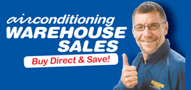 Airconditioning Warehouse Sales | Air Conditioners at wholesale and trade prices